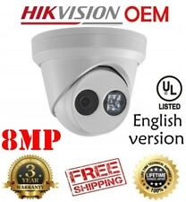 Hikvision(OEM) DS-2CD2385FWD-I(NC328-XD) 8MP POE EXIR Turret Outdoor IP CAM 4MM