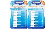 Wisdom Clean Between Interdental Brushes Blue Fine - 2 Packs