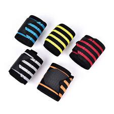 Weight lifting strap fitness gym sport wrist wrap bandage support wristband EB