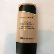 MAX FACTOR LASTING PERFORMANCE 109 NATURAL BRONZE MAKE UP LUNGA TENUTA