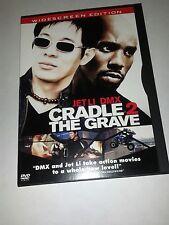 CRADLE 2 THE GRAVE DVD - JET LI - DMX WIDESCREEN / LOTS OF EXTRAS