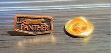 Panther Pin schwarz golden Automobile 15x8mm ORIGINAL
