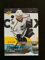 2016-17 Upper Deck Exclusives #247 Nic Dowd YG