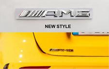Stemma posteriore New AMG Mercedes Classe A B C CLA GLA E S GLC ML logo fregio