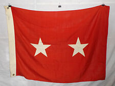flag784 Us Army 2 Star Major General Service Flag wool bunting grommets W9E