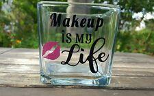 Handmade Custom Make Up is My Life  Brush Holder