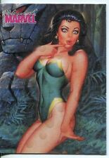 Women Of Marvel Series 1 Swimsuit Chase Card S13