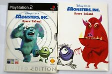 Disney Monsters Inc. Scare Island Playstation 2 PS2 PAL - Limited Edition