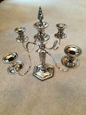 Antique Candelabra Hartford Sterling Co. Quadruple Plated