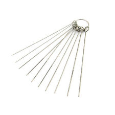 For Airbrush Paint Spray Guns Nozzle Tattoo Equipment Cleaning Needle Kit 10 Pcs
