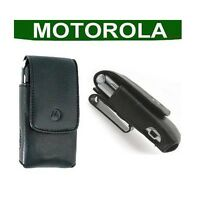 GENUINE Motorola RAZR V3 V3i Mobile Leather CASE original cell phone pouch cover