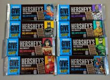 Justice League Hershey's DC Super Hero Chocolate Bar Set Of 8 Limited Edition