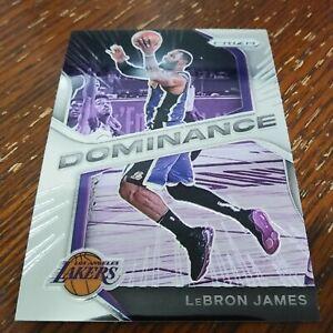 LeBron James 2020-21 Panini Prizm Dominance #17 Los Angeles Lakers