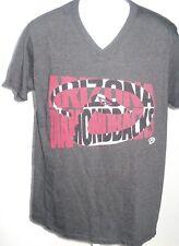 Arizona Diamondbacks MLB Baseball T-shirt V-Neck Dark Gray Short Sleeve