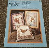 Bordered Wildlife Collection Something Special Cross Stitch Pattern Eagle Deer