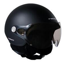 Nexx SX60 Vision Plus Matt Black Motorcycle Open Face Kids Helmet | All Sizes