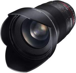 Samyang 35mm F1.4 UMC II Pentax K Full Frame Camera Lens