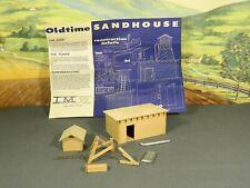 HO 1:87 PARTIALLY BUILT Model Building WOOD CRAFTSMAN TRACKSIDE SANDING TOWER