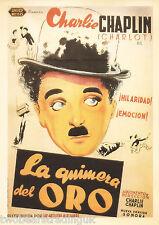 Postcard: Vintage Movie Posters - La Quimera Del Oro (The Gold Rush) (2014)