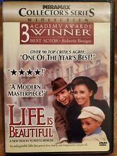 Life Is Beautiful (Dvd, 1999) Like New