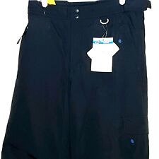 Slalom Youth Ski  Snow Pants  New With Tags Black  Size L Water Wind Proof