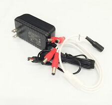 12V DC Security Camera Power Supply Adapter w/ 4 (2.1mm) Channel Connectors, UL