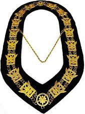 32nd Degree Wings Up Masonic Chain Collar Scottish Rite Consistory Jewel