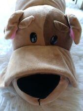 Flip A Zoo! Bodni Bulldog and Savannah Cat 2-in-1 Plush Stuffed Animal LARGE