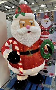 6ft Indoor Outdoor Twinkling Pop-up Santa 280 LED Lights Christmas Decoration 🌲
