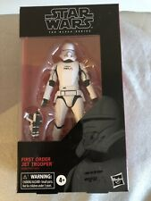 "Star Wars Black Series First Order Jet Trooper 6"" Scale Figure Hasbro #99 2019"