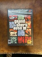 Grand Theft Auto III PlayStation 2 PS2 GTA 3 - New And Sealed