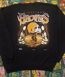 Vintage 90s Cleveland Browns BIG LOGO Magic Johnson T's XXL DEADSTOCK NOS NWT