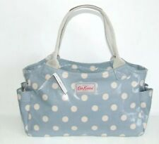 Authentic Cath Kidston Day Bag Medium Handbag Seafoam Blue Spots - New With Tags