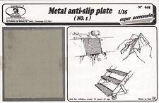 Royal Model 45  1/35 Metal Anti-Slip Plate #1 (Photo-Etch)