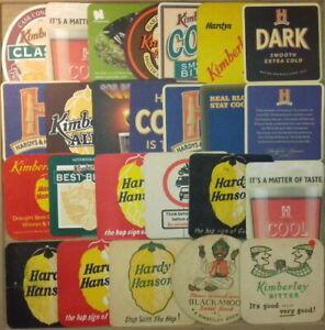 25 Different Hardy Hansons Brewery Kimberley Beermats Coasters Bierdeckel