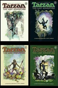 Tarzan The Lost Adventure Set Edgar Rice Burroughs Joe Lansdale Vess NM