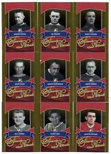 2012-13 ITG Forever Rivals Hockey Gold 100-Card Base Set