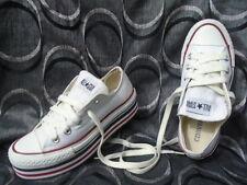 Donna Converse All Star Bianco Sneaker Basse 4 Regno Unito, UE 36.5, cm 23