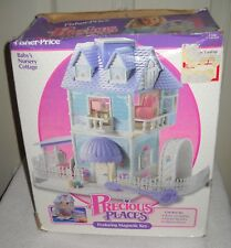 #9768 Nib Vintage Fisher Price Precious Places Baby's Nursery Cottage