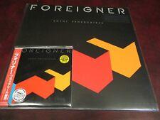 FOREIGNER PROVOCATEUR RARE JAPAN REPLICA TO THE ORIGINAL LP OBI CD + 180 GRAM LP