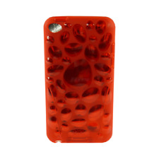 iSkin - Pebble - flexible slim-fitting cover - hülle - iPod touch 4 - blaze