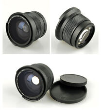 52mm 0.35X HD Super Wide Fisheye Macro Lens for Nikon D300 D3300 D5200 D7100 D90