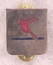 Army DI pin - 400th Infantry Regt, 100th Div - cb, silver shield, no motto