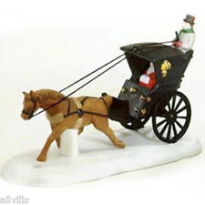 KING'S ROAD CAB  DEPT 56 RETIRED DICKENS VILLAGE Nice addiition to Dickens scene
