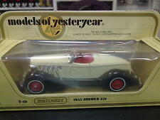 Matchbox Models of Yesteryear Auburn 851 1935 Y-19 beige / bruin