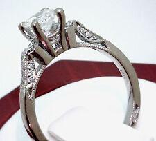 Tacori Round Three Stone Diamond Engagement Rings For Sale