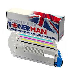 Toners for OKI C5850 | OKI C5950 | OKI MC560, 43865721|2|3|4, Full Set, UK Reman