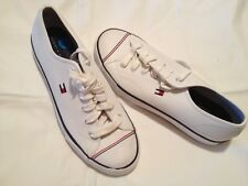 ..TOMMY HILFIGER WHITE TENNIS SHOES-FOR HANDSOME MEN-11.5