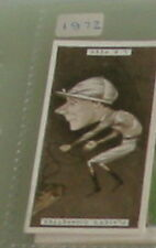 #31 Lewis Rees horse racing - 1925 cigarette card