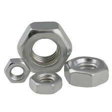 Hexagon/Hex Full Nuts BSW 1/2-12,1/8-40, 3/16-24, 5/32-32 A2 Stainless Steel